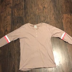 Pink bed shirt